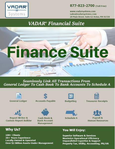 Municipal Finance Software, Government Software, Government Finance System, Government Accounting Software, Municipal, Finance, Software, Support, Services, Massachusetts, Efficient, Easy, Local, Fast, Cloud, Accounting, Budget, Collections, Tax, Utility, Water, Sewer, Betterment, Forecast, Analysis, Report, Efficiency