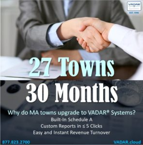 VADAR, financial software, accounting software, municipal, massachusetts, software, systems. system, accounting system, tax software, tax system, accountant, financial software, financial systems, VADAR, ccc, it grant, community compact, technology, it